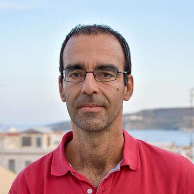 photo of damianos gavalas, head of dpsd department, university of the aegean